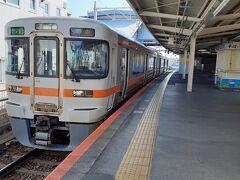 では、身延線の旅行を開始しましょう。 身延線 甲府行きワンマン列車 富士9:12~甲府11:55 ここからは紹介した駅の中で気になった駅(データがない駅を除く)の乗降人数を書いていきます(データは古い場合あり) 富士駅 7989人(2018年)