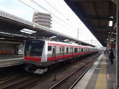 京葉線に乗れば、都心まで1本。朝9時過ぎと言えばまだラッシュの続きの時間と思うのだけど、終始、席を選べるほどの余裕がありました。緊急事態宣言下ゆえでしょうか。