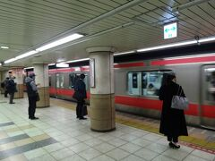 八丁堀で京葉線に乗り換え。