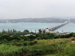 古宇利大橋を渡って、ようやく古宇利島に上陸。 道の駅のような「愛すらんど古宇利島 食と館」で休憩。