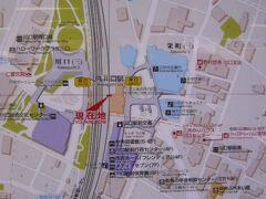川口駅東口と反対側には、広い川口西公園があります。  リリアパークと呼ばれているようです。