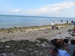 竹富島  星砂浜に到着
