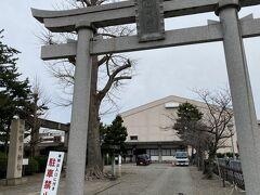 城址から出ると福井神社  別表の神社って格式高いと思ってましたが  結構な数があるんですよね