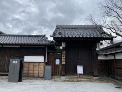 旧堀切邸。 江戸時代から続いた豪農・豪商の旧家。 残念ながら新型コロナの影響で休館中でした。