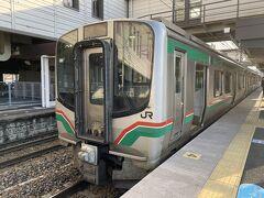隣駅の白河駅に向かいます。 切符190円
