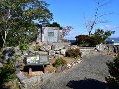 延岡城 天守台の側の櫓跡。 天守台には天守が建てられなかったので、ここにあった櫓が実質上の天守だったという。