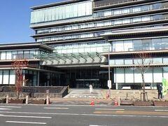 延岡市役所 こちらも前回から建て直されていた。