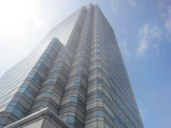 世田谷ビジネススクエアが駅に直結しています  この日の天気予報は雨でしたが、曇りに変わりました  ので、出かけることにしましたが、電車を降りたらきれいな青空でよかった~(^▽^)/