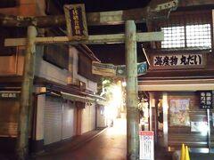 島に到着☆  青銅の鳥居が入口です。 島には「江島神社」があります。  ちなみに、島は「江の島」、神社は「江島」、駅は「江ノ島」です。 「の」の扱いがそれぞれ違います。笑