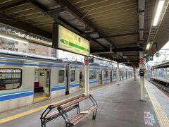 川越駅で埼京線に乗り換え。