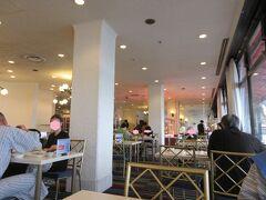 ホテルグリーンプラザ浜名湖 湖が見える朝食会場。
