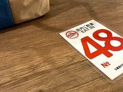 息子リサーチのBIG MAN京町本店へ。 目の前のコインパーキングに停めて 列に並ぶと、店内飲食もテイクアウトも含めて30分以上待つといわれました。 アーケード店なら比較的空いているというので アーケード店へ。  しかし、30分以上待つことに