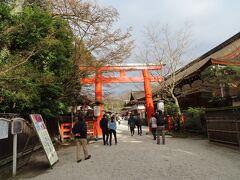 ホテルに入る前に  最後に寄ったのが  下鴨神社