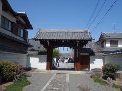 本満寺は入口が分かりにくい。