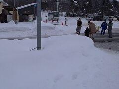 旭山動物園の正面入口は、思った以上に質素です。