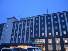 目的地そして今夜泊まる紋別プリンスホテルに到着です。