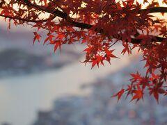 尾道に移動し浄土寺山へ。  日没までに間に合わないかも!!と思って焦って向かいましたが、なんとか間に合いました。\(^o^)/
