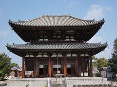 近くにある喜光寺です。中には入りませんでした。