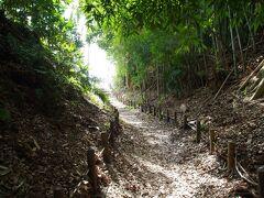 くらやみ坂 ハイキングのような道です。