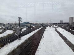 鵡川から苫小牧に戻り、苗穂駅に移動。