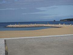●扇ヶ浜  とてもきれいに整備されています。