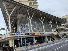 さて、久々の那覇バスターミナル付近 (あの昭和感満載のバスターミナルが消えて綺麗な商業施設兼バスターミナルになってた・・・)