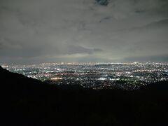 油山片江展望台から撮影開始。
