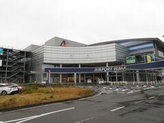 2021.03.05 小牧空港 国際線ターミナル転用のショッピングセンターを突っ切って…