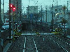 2021.03.05 平安通ゆき普通列車車内 味鋺を出ると地下に潜る。次の上飯田からは地下鉄の延伸区間。