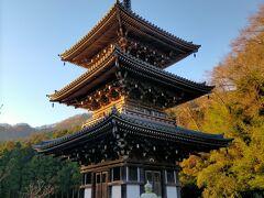 伊勢原の大山の近くの日向エリアには3つの古刹があります。 三重塔のある浄発願寺もそのうちのひとつ。