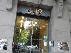 Alto Hotel on Bourke の玄関
