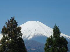 西には富士山がはっきり見え、