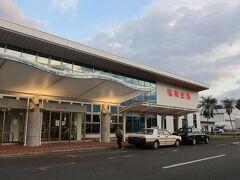 奄美空港は思っていたよりも立派でした!