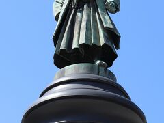 靖国神社参道 大村益次郎銅像