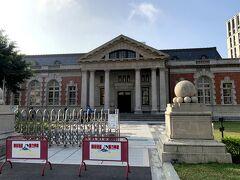 翌朝も市内をぶらぶら。 国定古跡台南地方法院(日本統治時代の台湾での三大建築の一つ)