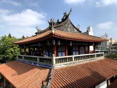 台南定番観光スポットの赤崁樓