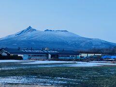 帰り道、駒ヶ岳が正面に。 かっこいいな。