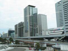 2021.03.07 姫路ゆき新快速列車車内 神戸を出ると…