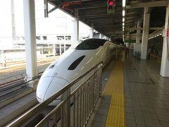 九州新幹線が全通したときに乗りに来て以来、久しぶりにお目にかかる800系新幹線。約10年ぶりということになる。