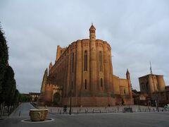 世界遺産に登録されたアルビの町のシンボルとも言うべき、サント・セシル大聖堂。