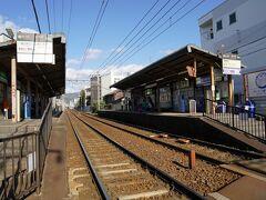 一乗寺駅で下車。