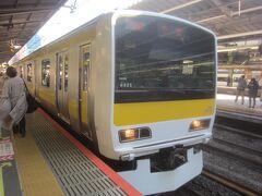 なので、新宿から総武線に乗り換え