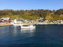 そうこうしていると相島が姿を現しました。 8:20、相島へ到着!ワクワクです。