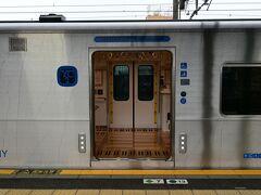 ハウステンボス駅からJR特急ハウステンボスで博多に移動しました。