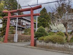 「犬嶋神社入口」10:15通過。