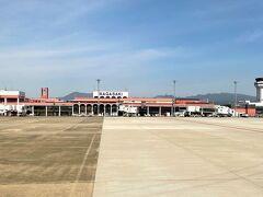 長崎空港とうちゃーく。