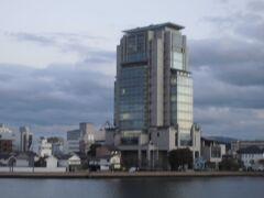 山陰合同銀行本店は島根県で一番高い建物です。その展望フロアに行って来ました。