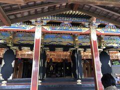 久能山東照宮 拝殿(国宝)
