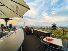 ホテルの屋上にある ルーフトップバー、『K36』へ行ってみます♪  ホテル側から予約して頂いてます