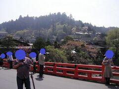 写真スポットの『宮川中橋』にて